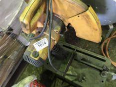Dewalt metal cutting saw, 240v