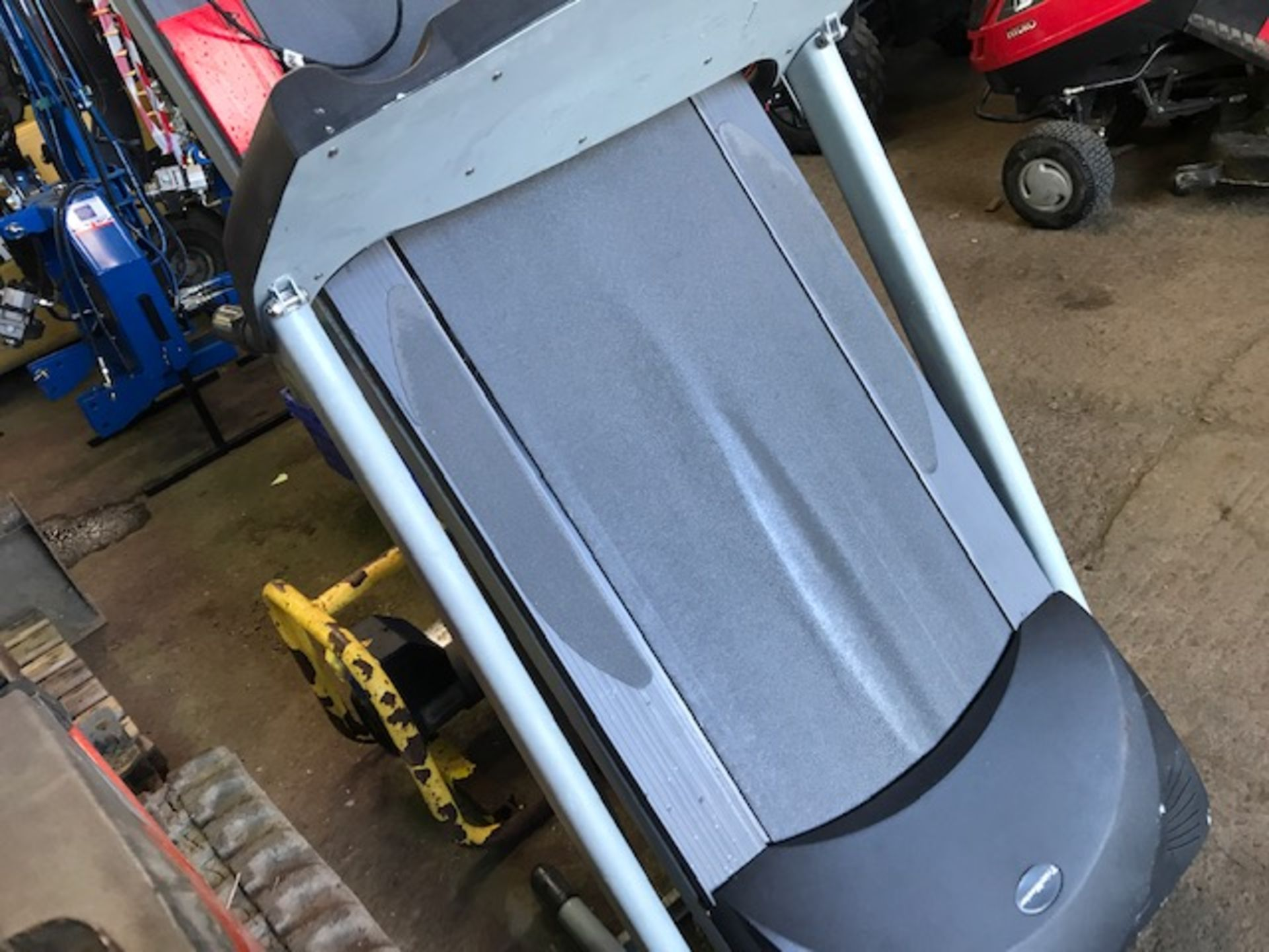 Lot 1217 - trimmaster treadmill running machine...not powering up...sold as suitable for spares/repair.