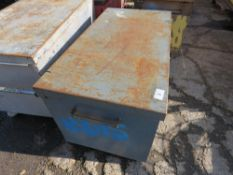 Tool box, no keys, ex company liquidation