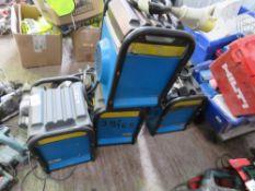 4no. Andrews 110v cube heaters