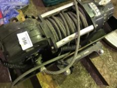 Large lorry winch