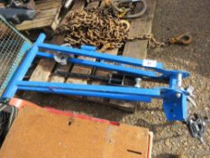 Pipe bending stand