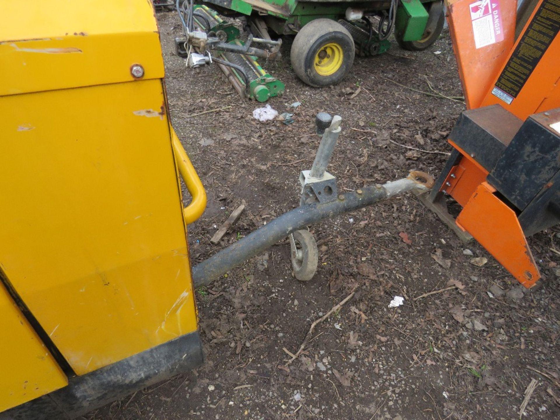 Lot 1665 - Arcgen 330 amp towed welder,