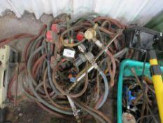 Gas cutting hoses