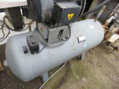 Hydrovane air receiver plus 3-phase motor