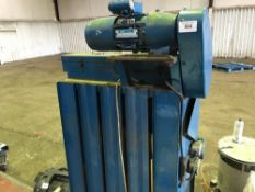 Small sized waste baler/compactor unit