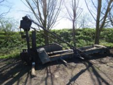HOOK LOADER EQUIPMENT FROM 8 WHEEL LORRY, RECENTLY REMOVED. WITH EASY SHEET SYSTEM.