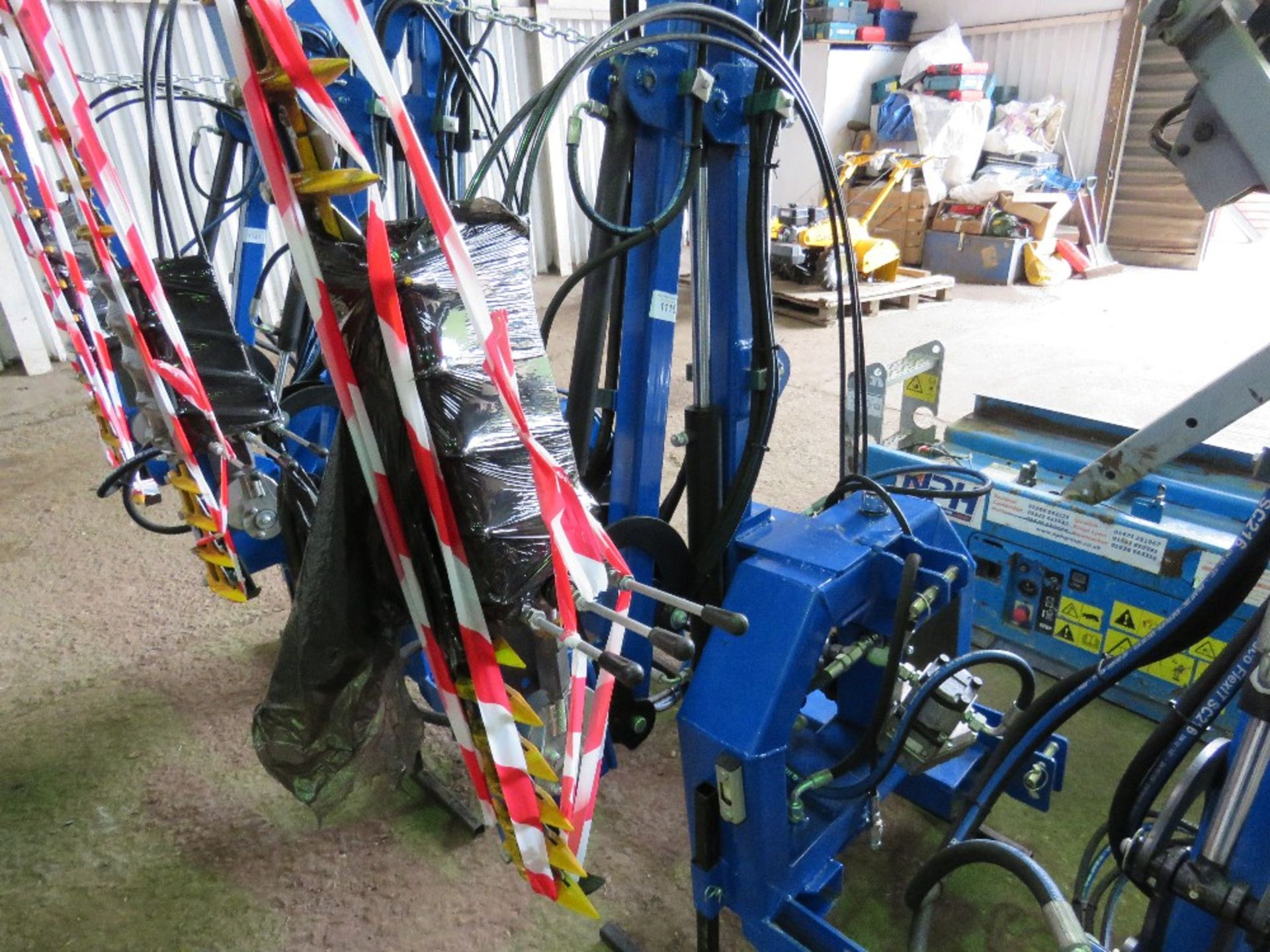 Lot 1119 - SPITFIRE CTH1300 TRACTOR MOUNTED SIDE ARM HEDGE CUTTER, UNUSED,