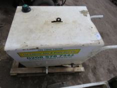 STEPHIL 6KVA SKID GENERATOR WITH YANMAR ENGINE..PARTS MISSING..NON RUNNER