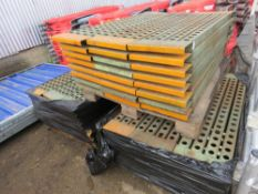 3no. Pallets of racking platforms, ideal for walkway