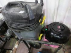 KARCHER AND PINK VACUUMS