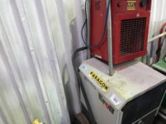 Heater and dehumidifier