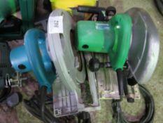 Transformer and 2no. circular saws