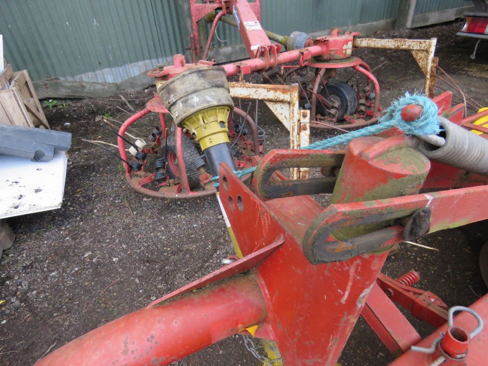 Lot 1735 - SIP Landmec RK1650 twin drum tractor mounted mower