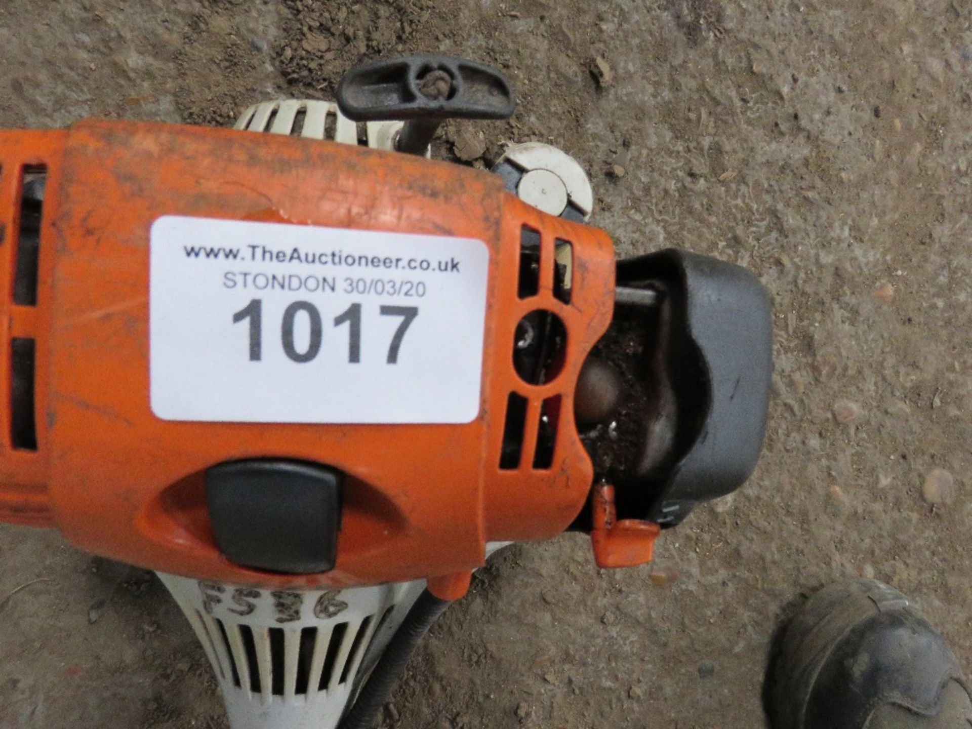 Lot 1017 - Stihl HL95 long reach hedge cutter