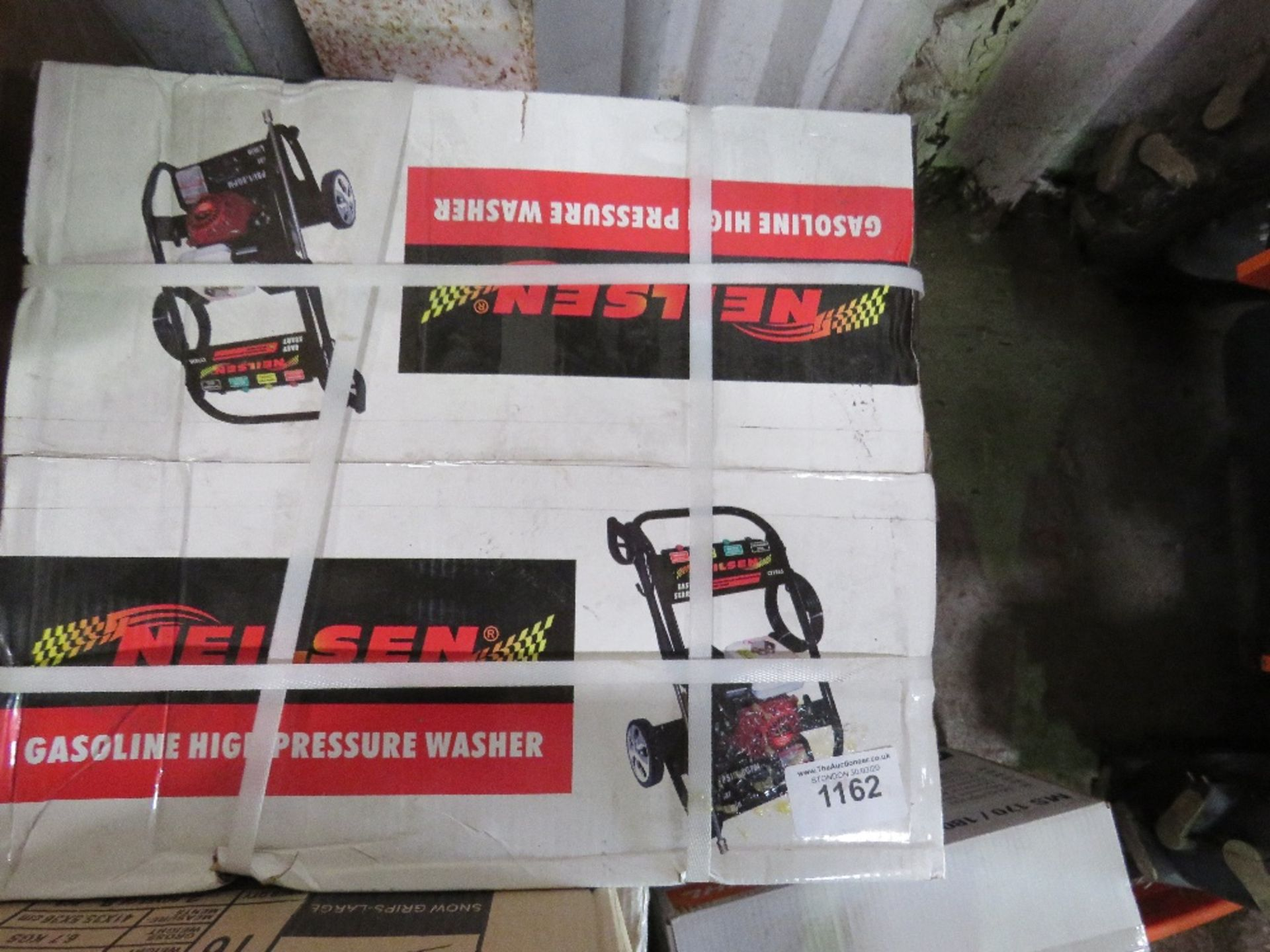 Lot 1162 - NIELSEN PETROL ENGINED POWER WASHER, BOXED