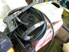 Snap-On steam cleaner plus lance and hose