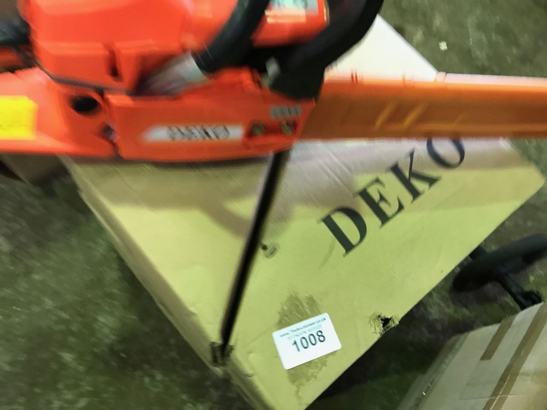 Lot 1008 - 4no. Deko petrol engined chainsaws, boxed