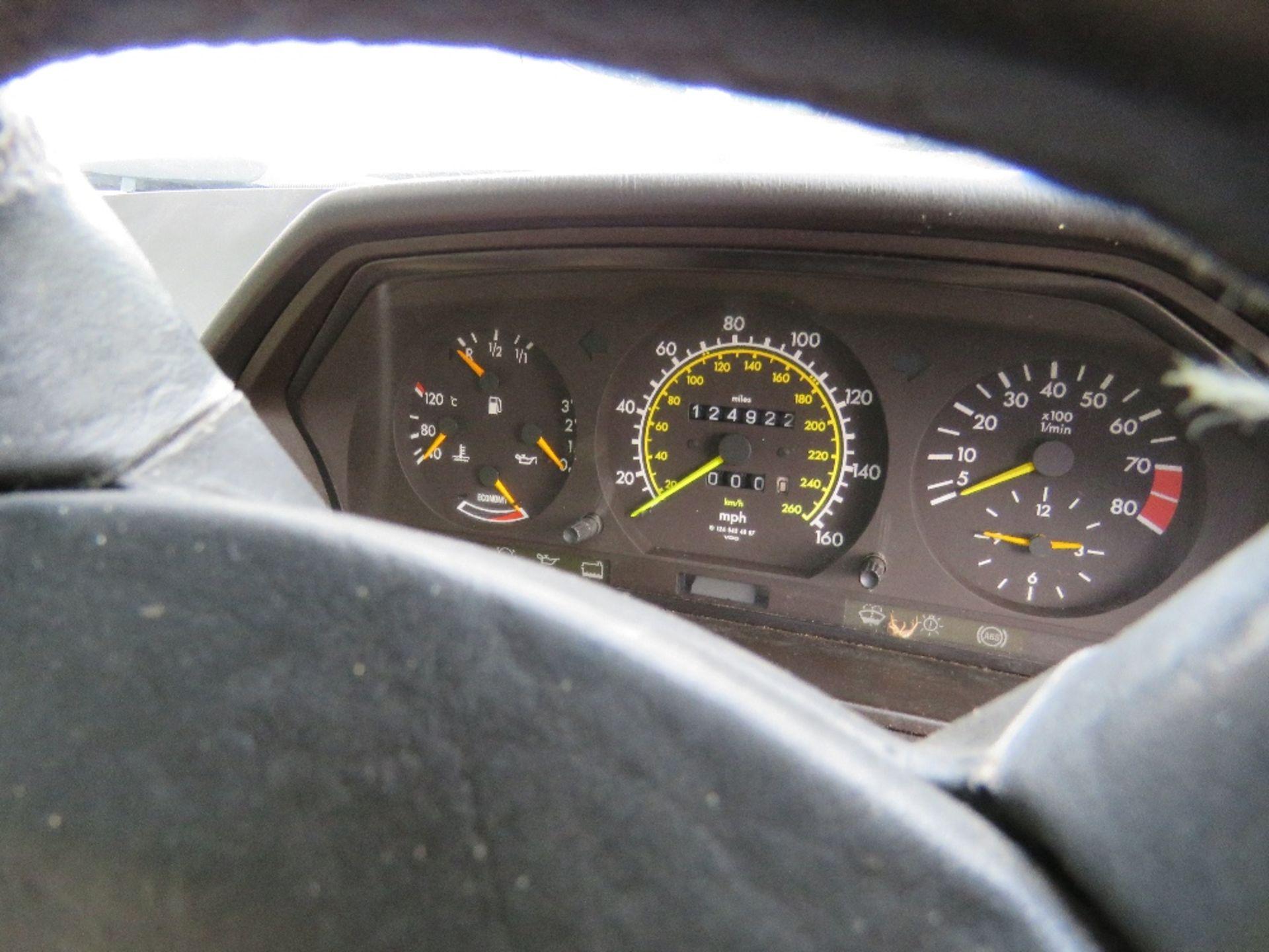 Lot 1738 - Mercedes 300 CE 24 coupe car, auto, reg. G397 TTO