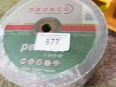 2no. Packs of grinding/cutting discs