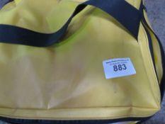Spill kit in bag