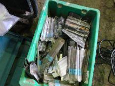 Large qty of masonary drill bits