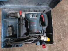 """BOSCH HAMMER DRILL IN CASE. All items """"sold as seen"""" or """"sold as is"""" with no warranty given or"""