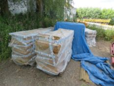 LARGE QUANTITY OF PALLET RACKING BOARDS