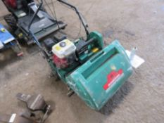 RANSOMES SUPER CERTES 6 CYLINDER MOWER. WHEN TESTED WAS SEEN TO START AND RUN BUT NO DRIVE TO ROLLER