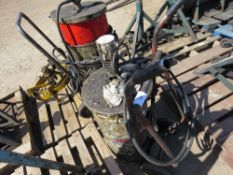 AIR POWERED GREASE BARREL TROLLEY sourced from company liquidation
