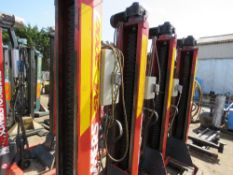 SET OF 4 X SOMERS SVL2000 COMMERCIAL VEHICLE COLUMN LIFTS, 7 TONNE RATED, EX COMPANY LIQUIDATION, R
