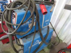OERLIKON CITOLINE 4500 TS(W) MIG WELDER WITH WIRE FEED UNIT 3 PHASE POWER sourced from company liqui