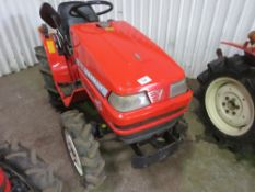 YANMAR KE-3 4WD COMPACT TRACTOR WITH REAR LINKAGE WHEN TESTED WAS SEEN TO START, DRIVE, STEER AND BR