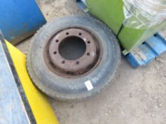 LORRY WHEEL AND TYRE 235/75R17.5
