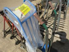 HEAVY DUTY STAIR CLIMBING JACK BARROW LITTLE USED AND ANOTHER SMALLER SACK BARROW sourced from compa