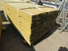 1 X PACK OF SHIPLAP FENCE TIMBER CLADDING @1.74METRE LENGTH X 9CM WIDE