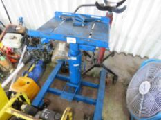 HEAVY DUTY TRANSMISSION JACK 1500KG CAPACITY sourced from company liquidation