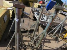 SET OF 4 X SOMERS TOTAL KARE HIGH REACH 7.5TONNE RATED AXLE SUPPORT STANDS, EX COMPANY LIQUIDATION