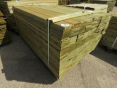 1 X PACK OF FEATHER EDGE TIMBER CLADDING @1.64METRE LENGTH X 10CM WIDE APPROX