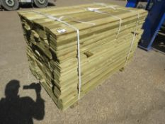 1 X PACK OF FEATHER EDGE FENCE TIMBER CLADDING @1.5METRE LENGTH X 10CM WIDE