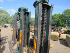 SET OF 4 X PROLIFT PL32 PORTABLE COLUMN LIFT UNITS FOR COMMERCIAL VEHICLES, 8 TONNE RATED CAPACITY,