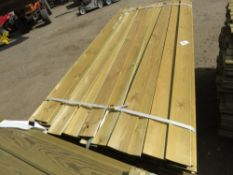 1 X PACK OF CLADDING TIMBER @1.74M X 9CM WIDE X 0.8CM DEPTH APPROX