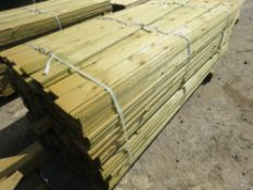 1 X PACK OF FEATHER EDGE CLADDING TIMBER @1.8M LENGTH X 10CM WIDTH APPROX