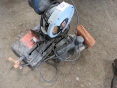 """SANDER AND SMALL SAW . All items """"sold as seen"""" or """"sold as is"""" with no warranty given or implied."""