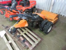 BUCHER M9 POWER UNIT WITH FLAIL HEAD AND RECIPROCATING BLADE MOWER, WHEN TESTED WAS SEEN TO START, D