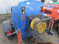 SINGLE AXLED CABLE WINCH UNIT, 1985 REC HRS. PN:T5467 WHEN TESTED WAS SEEN TO START, RUN, DRUM TUR