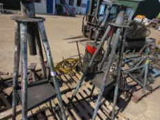2X AXLE STANDS HIGH REACH TYPE sourced from company liquidation