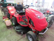COUNTAX A2050 HYDROSTATIC RIDE ON MOWER WITH POWER COLLECTOR 4FT CUT APPROX, WHEN TESTED WAS SEEN TO