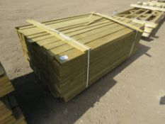 1 X PACK OF FEATHER EDGE CLADDING TIMBER @1.5M LENGTH X 10CM WIDTH APPROX