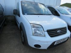 FORD TRANSIT CONNECT PANEL VAN 122,255 REC MILES, WITH AIR CON. REG:AV12 OFZ WITH V5. TESTED TILL 3